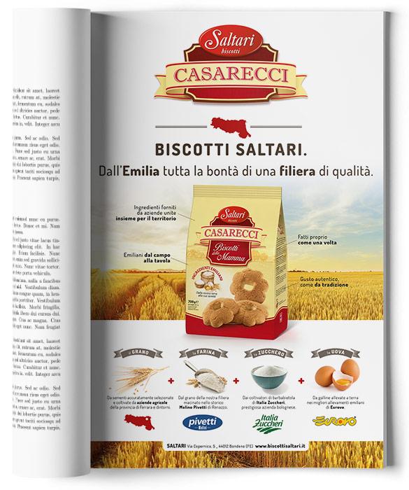 Pagina adv Saltari biscotti