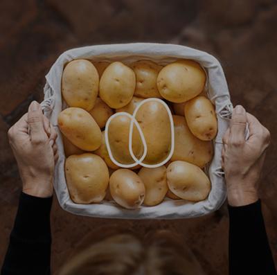 Patata di Bologna advertising
